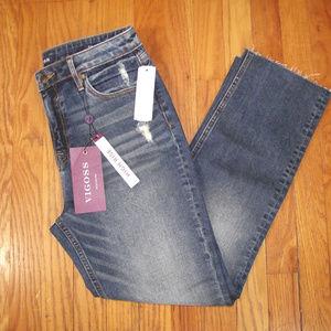 NWT VIGOSS Stitch Fix Stevie Cropped Straight Jean